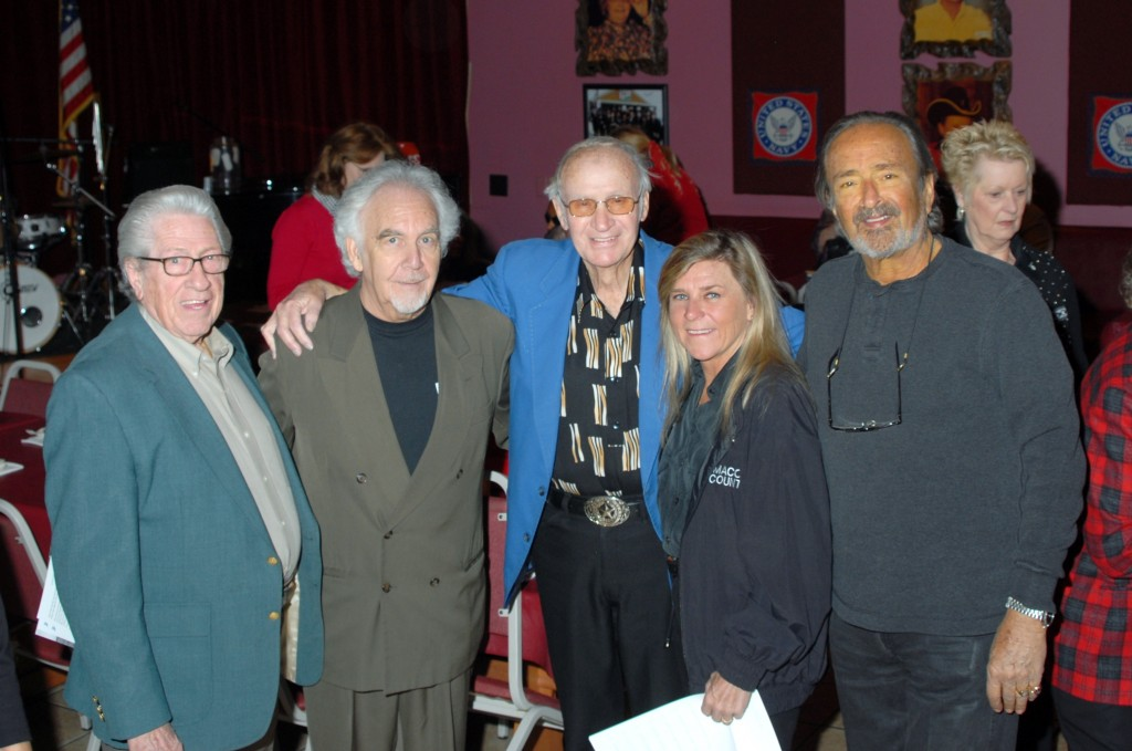 Marty Martel, Johnny  Moore, Jett Williams and husband Keith Adkinson photo by jerry overcast